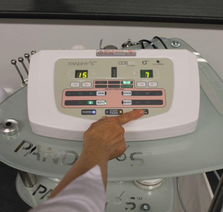 elektrokozmetikai tanfolyam